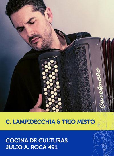 Christophe Lampidecchia & Trio Mistó